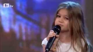 """Поли Иванова/Polly Ivanova, 8 years old - """"Listen """" Beyoncé"""