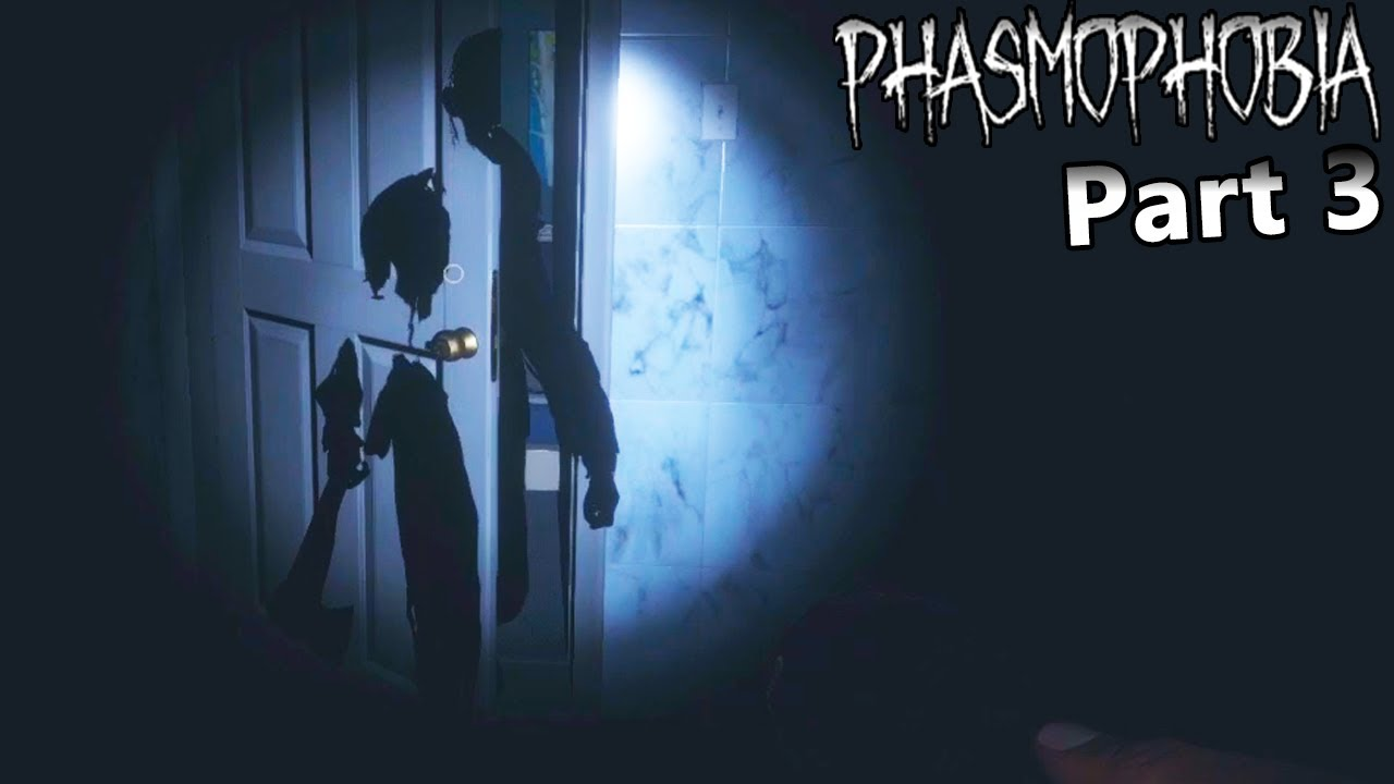 NightShadowXO - 2 Most Scary Ghosts I Have Seen Yet!  - Phasmophobia Part 3