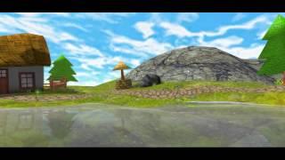 Blender, Shiva, cartoon sight test