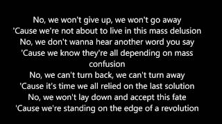 Nickelback Edge Of a Revolution [Lyrics]