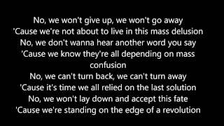 Nickelback Edge Of a Revolution [Lyrics]