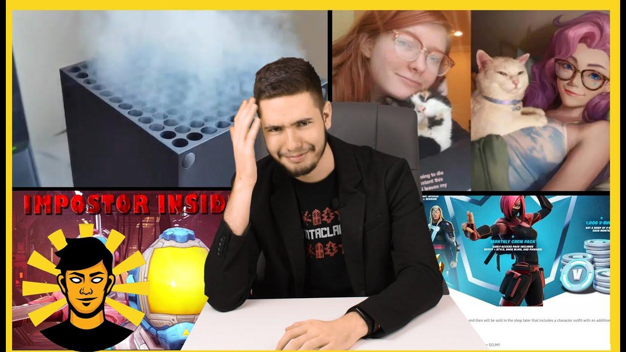 Sunn - FÜST AZ XBOX? 🔥 | Seraphine LOPOTT? | FORTNITE Előfizetés | Sunn híradó