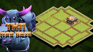 Clash Of Clans - TH11 ANTI MINERS |TH11 WAR BASE | ANTI 2 STAR|ANTI BOWLERS