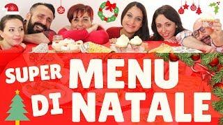 SUPER MENU DI NATALE 2017 con Mille Ricette per Tutti - Best Christmas Menu Ideas for 2017