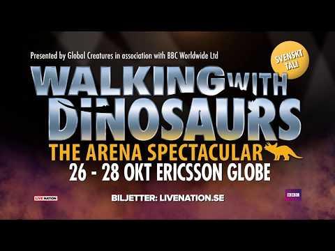 WALKING WITH DINOSAURS - 26-28 OKT 2018 - STOCKHOLM