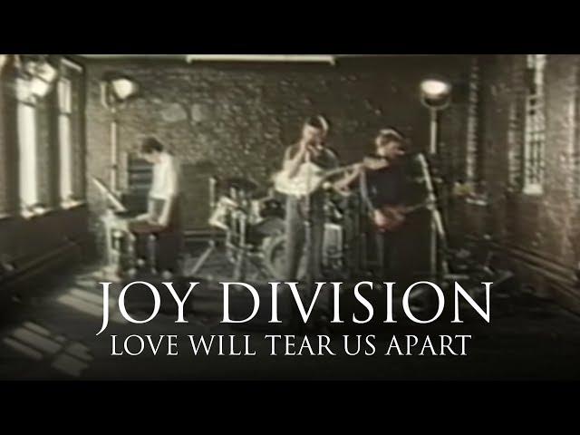 "Vídeo oficial de ""Love Will Tear Us Apart"" de Joy Division"