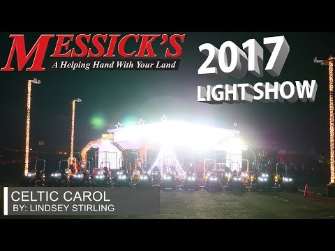 Messick's 2017 Christmas Light Show | Lindsey Stirling - Celtic Carol Picture