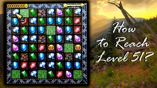 Super Jewel Quest - How to reach Level 51