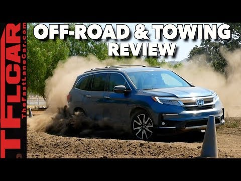 Power-sliding Pilot! How Good is the New Honda Pilot Offroad and How Does it Tow?