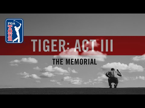 Act III, Part 8: Tiger Woods returns to the Memorial