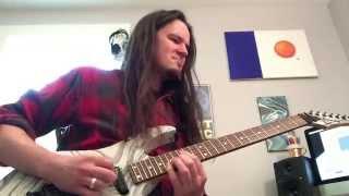 Mastodon Iron Tusk (Leviathan) guitar cover Dimarzio Titan metal