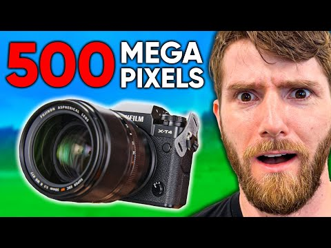 Shooting a 500 Megapixel Photo!