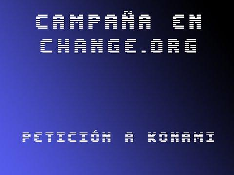 Campaña para Konami en Change.org