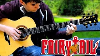Fairy Tail Main Theme Slow (Solo Acoustic Guitar) Eddie van der Meer  [Request Video #3]