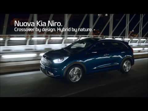 Nuova Kia Niro. Il crossover nato ibrido.