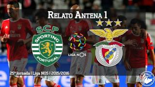 Sporting 0 - 1 BENFICA | Relato do golo (Antena 1)