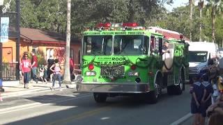 Green Fire Truck