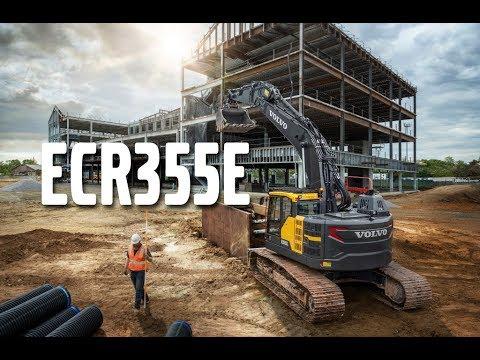 Grävmaskin Volvo ECR355E - lanseringsfilm
