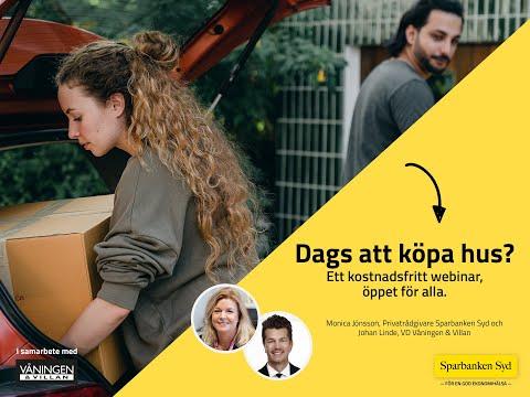 Webinar - Dags att köpa hus?