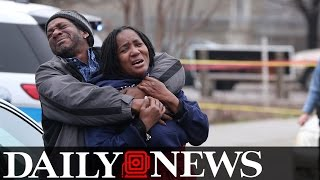 Mother Breaks Down After Witnessing Two Sons Fatally Gunned Down