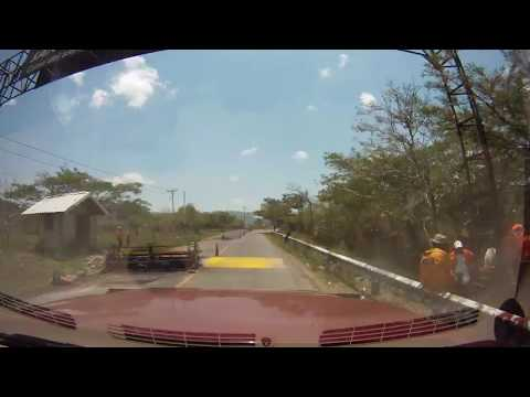 May 2012 Trans-Americas Journey Driving Route – Nicaragua (time-lapse)