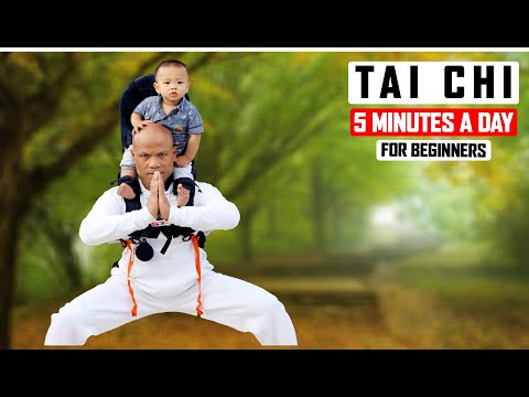 Tai Chi 5 Minutes a Day for Beginners Routine 3 ✅