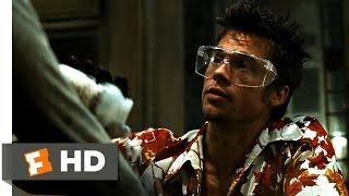 Fight Club (3/5) Movie CLIP - Chemical Burn (1999) HD