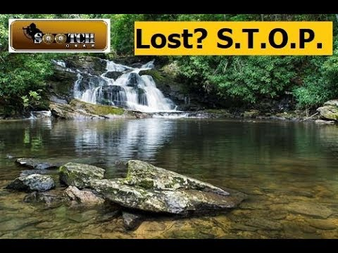 Lost in the Outdoors?  S.T.O.P.