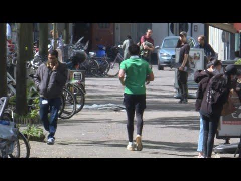 "Dutch gamble on ""intelligent"" lockdown to beat coronavirus | AFP photo"