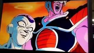 Pinko and goku vs freza and cell