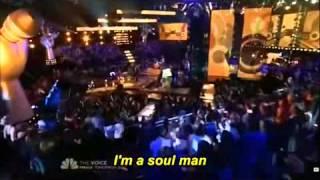 Jermaine Paul & Blake Shelton - Soul ManThe Voice