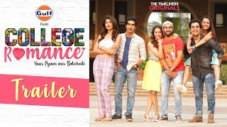 College Romance | Web Series | Trailer | The Timeliners width=