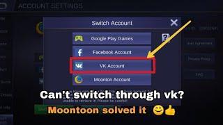 Mobile Legends Moonton Account