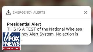 FEMA sends out first 'Presidential Alert'
