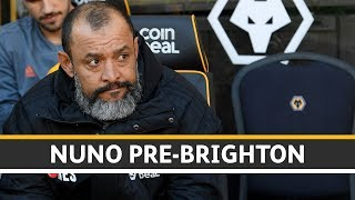 Nuno looking to bounce back at Brighton