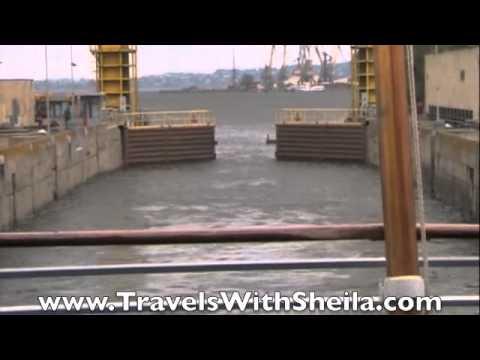 Zaporozhye Lock is the Deepest on Dnieper River, Ukraine