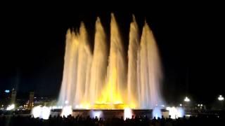 Font magica 01.04.2017 Barcelona, Freddie Mercury & Montserrat Caballe