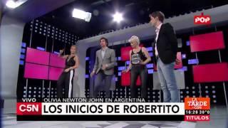 C5N - Viva la Tarde: Los inicios de Robertito