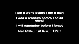 Slipknot - Before I Forget Lyrics ( HQ )