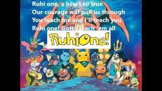 RuhiOne - karaoke (pokemon theme music)