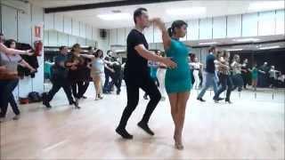 CLASE DE SALSA BASI Y DEISY  www.bailesurmadrid.com