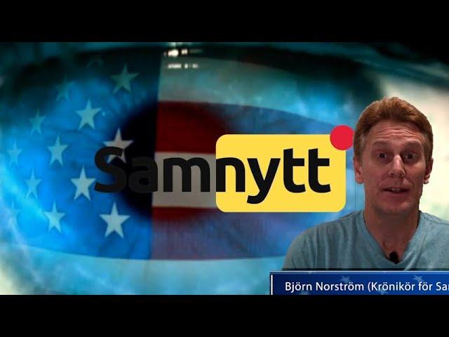"""Norströms USA-hörna: """"Mainstreammedia är ett hot mot demokratin"""""""