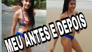 MEU ANTES E DEPOIS / De anorexia para atleta