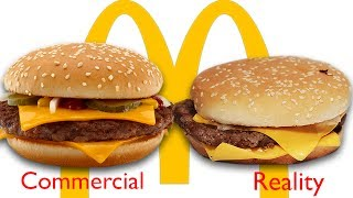 McDonald's Ads vs The Real Thing width=