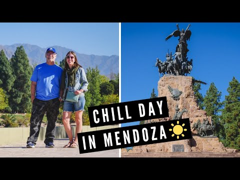 Visiting MENDOZA, Argentina: Eating Argentine Pasta 🍝 + Top Attractions in Mendoza City 🇦🇷