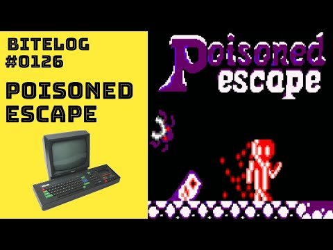 BITeLog 0126: Poisoned Escape (AMSTRAD CPC) LONGPLAY