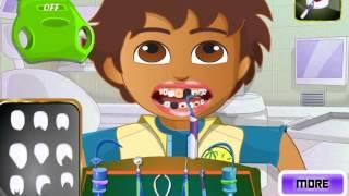 Dora and Diego At The Dentist (Даша и Диего лечат зубы) - прохождение игры