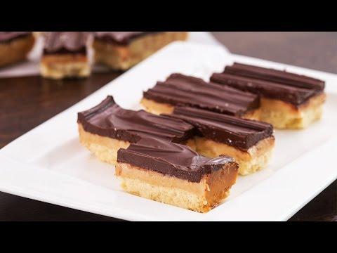 Homemade Twix Bars Recipe