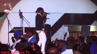 Video: BURNA BOY thrills the crowd at OLAMIDE LIVE IN CONCERT 2015
