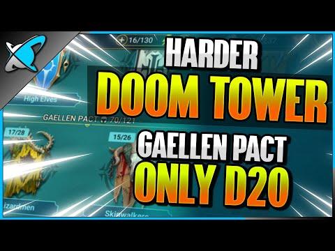 HARDER Doom Tower... Tomorrow | Gaellen Pact Only Dragon 20 | RAID: Shadow Legends